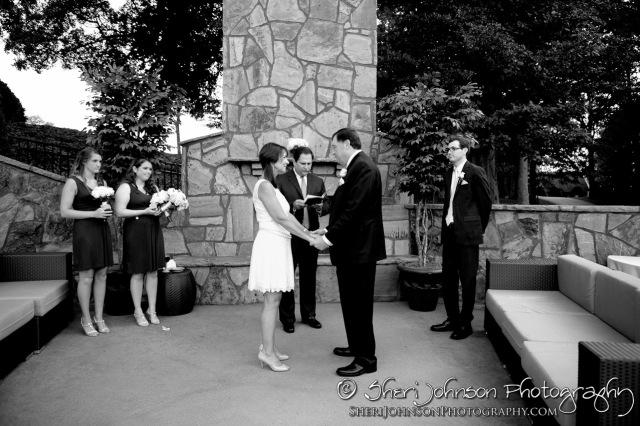 The Wedding Ceremony at Chateau Elan
