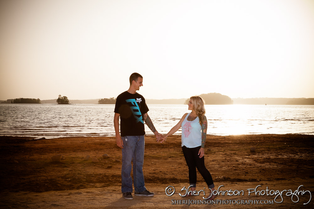 K+S Lake Lanier Engagement